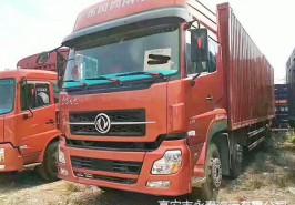 天龙,220前四后四,箱式货车